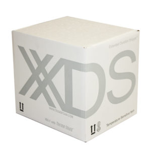 Photograph of XDS packaging