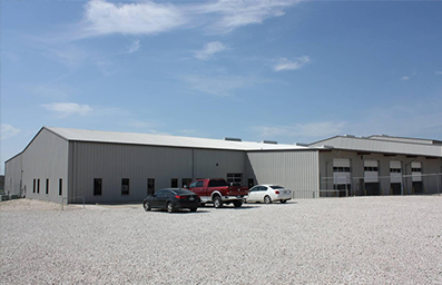 Photograph of the Austin facility