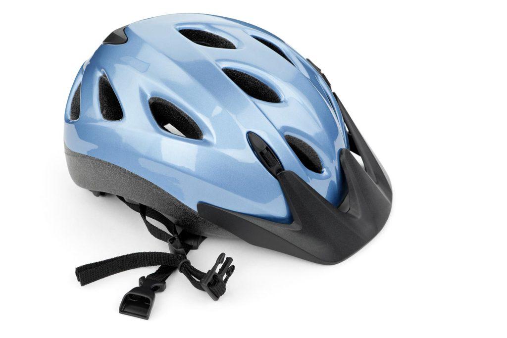 Photograph of bike helmet