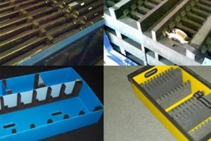 Photograph of automotive dunnage
