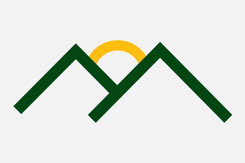 Huntington Solutions Mountain Logo