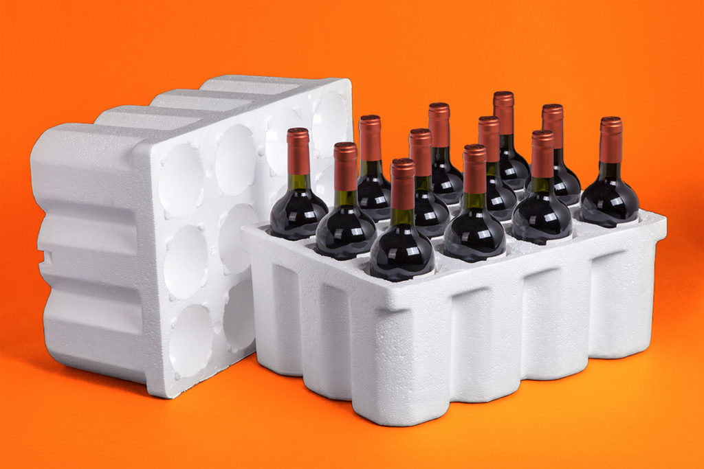 Photograph of EPS Wine Shipper
